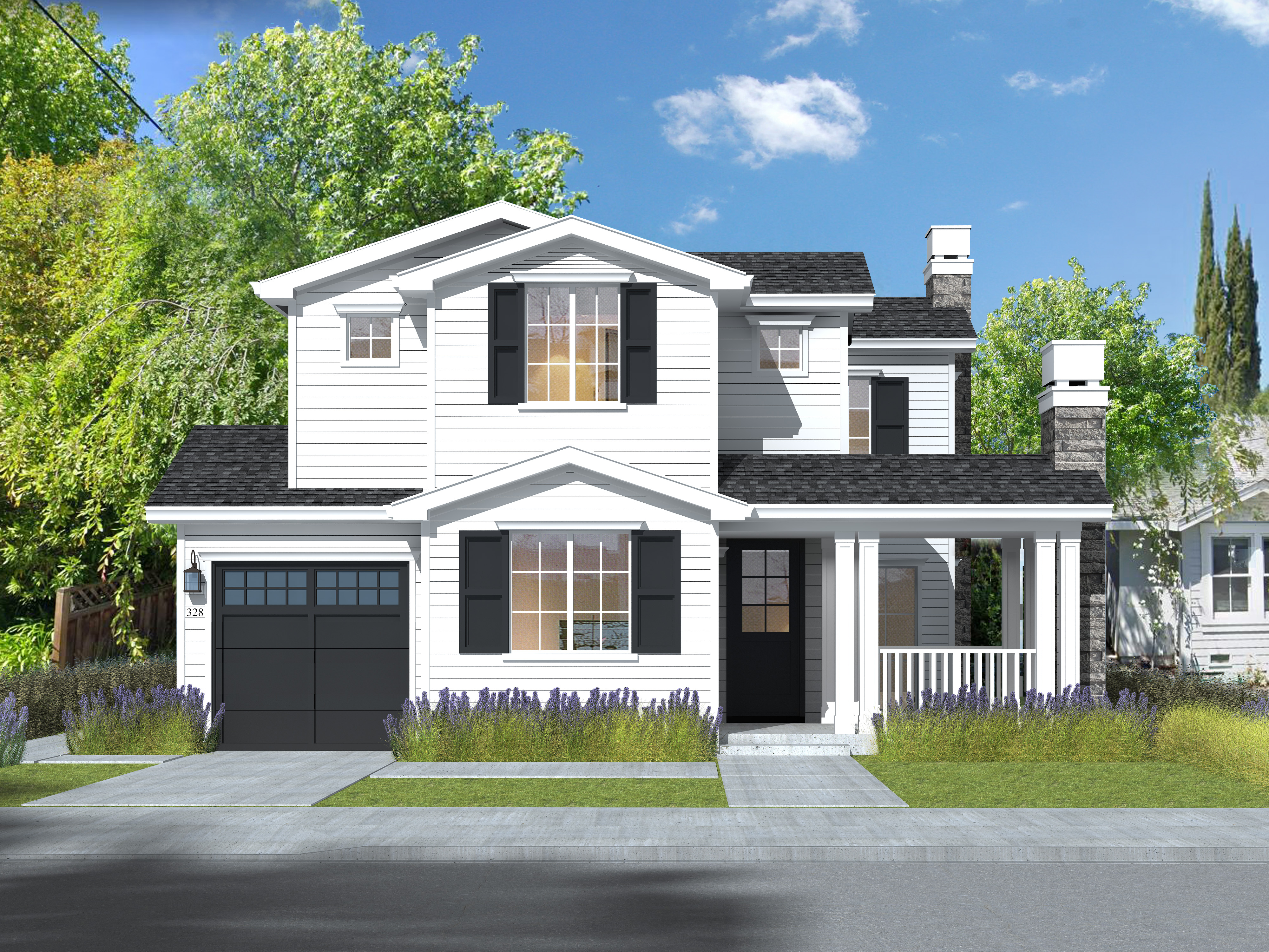 328 HILL Rendering Front 05.21.20